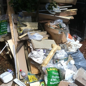 Fly Tipping clearance pricing Stockbridge