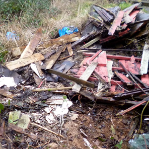 Fly Tip clearance Warfield